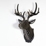 Deer head wall decoration