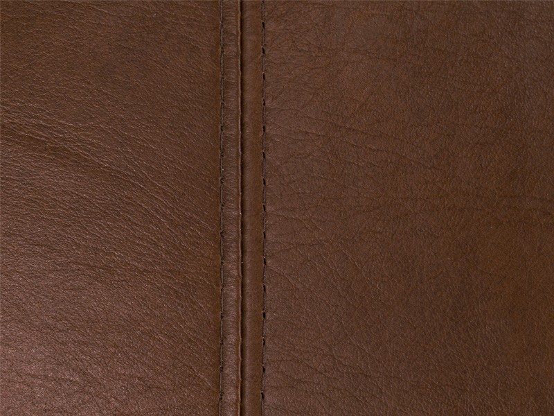 Dark Tan aniline leather